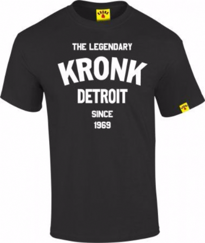 Kronk Legendary Detroit T-Shirt - Black